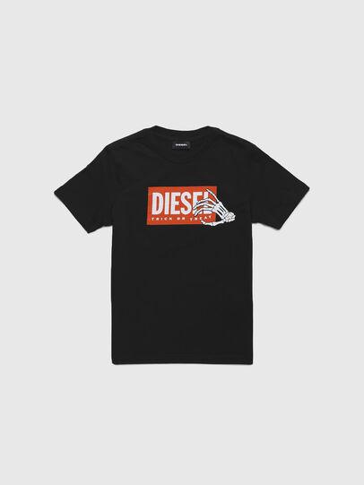 Diesel - TSKELE-TSE, Noir - T-shirts et Hauts - Image 1