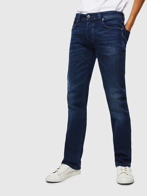 Larkee C870F, Bleu Foncé - Jeans