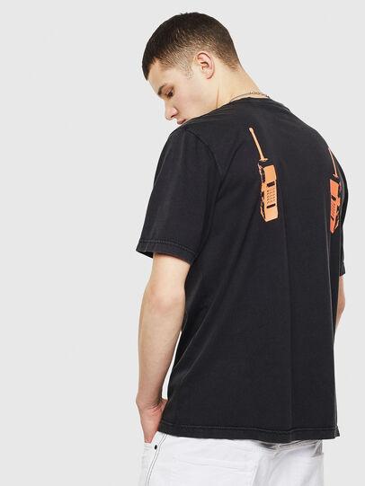 Diesel - T-JUST-T12, Noir - T-Shirts - Image 2