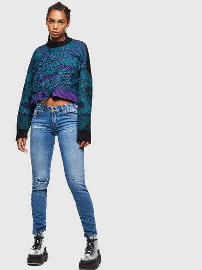 Diesel - Gracey JoggJeans 069IH, Bleu Clair - Jeans - Image 5