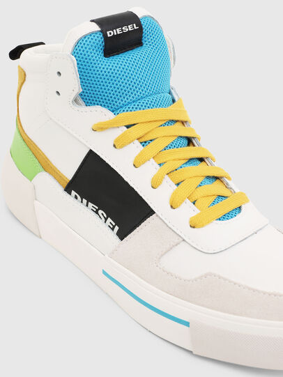 Diesel - S-DESE MG MID, Blanc - Baskets - Image 4