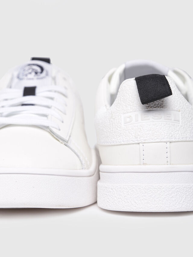 Diesel - S-CLEVER LOW W, Blanc - Baskets - Image 4