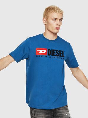 T-JUST-DIVISION, Bleu - T-Shirts