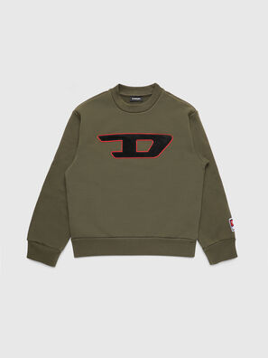 SCREWDIVISION-D OVER, Vert Militaire - Pull Cotton