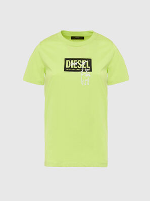 T-SILY-E52, Vert Fluo - T-Shirts