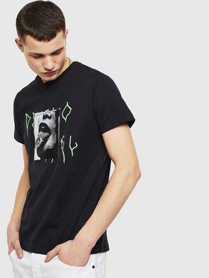 T-DIEGO-S12, Noir - T-Shirts