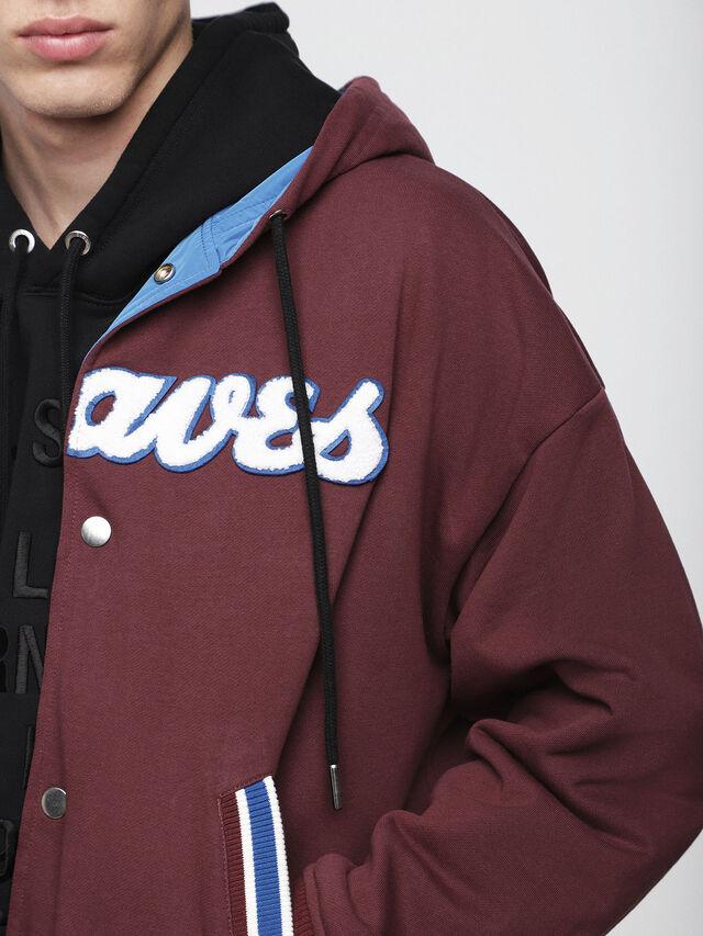 Diesel - S-BONY, Rouge/Bleu - Vestes - Image 5