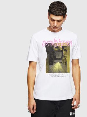 T-JUST-B24, Blanc - T-Shirts