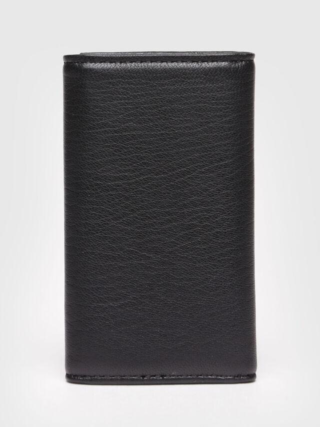 Diesel - KEYCASE P, Cuir Noir - Bijoux et Gadgets - Image 2