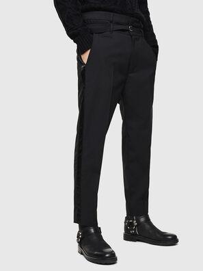 P-HOOKY, Noir - Pantalons