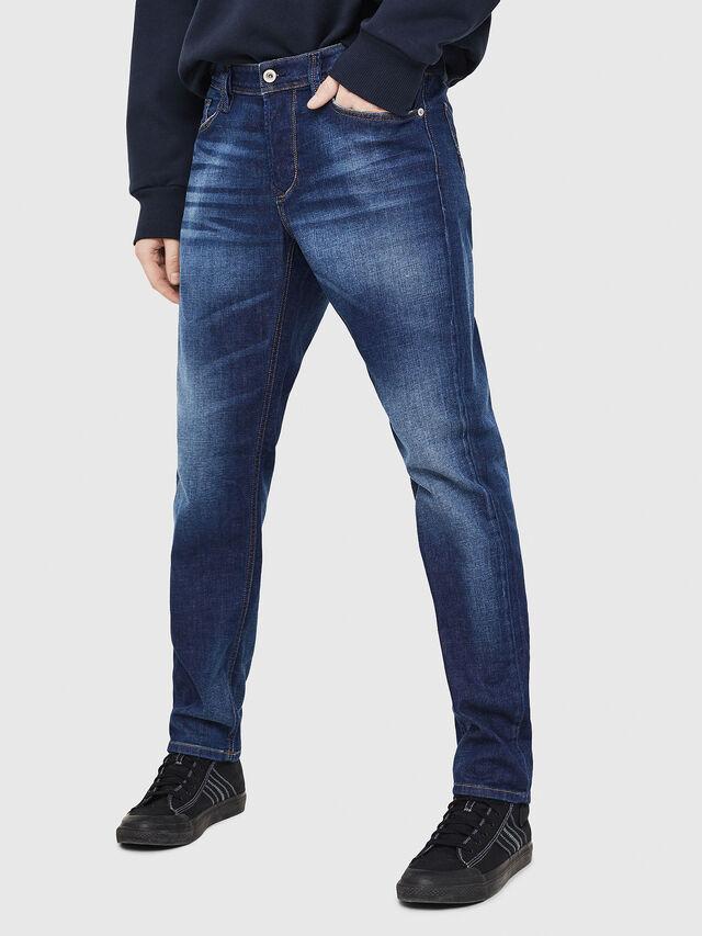 Diesel - Larkee-Beex 084GR, Bleu Foncé - Jeans - Image 1