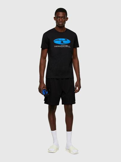 Diesel - P-PRONE, Noir - Shorts - Image 4