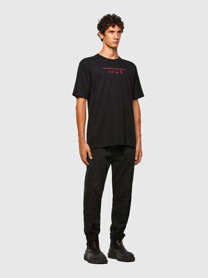 Diesel - T-TUBOLAR-N3, Noir - T-Shirts - Image 5