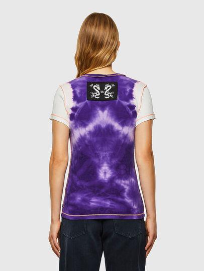 Diesel - T-SUPERY-V10, Blanc/Violet - T-Shirts - Image 2