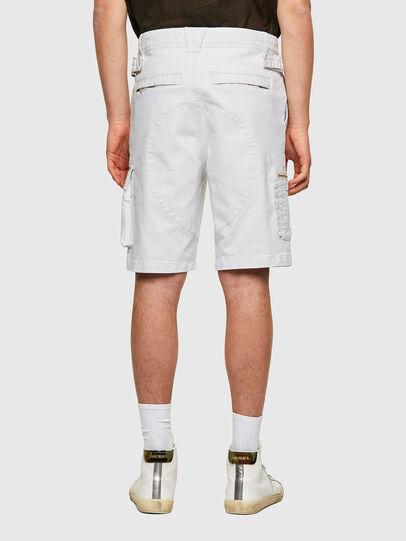 Diesel - D-CYAN-S-SP1, Blanc - Shorts - Image 2