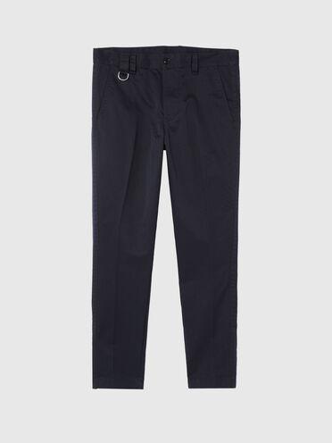 Pantalon chino avec fentes aux chevilles