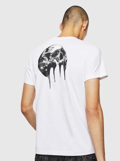 Diesel - T-DIEGO-J10, Blanc - T-Shirts - Image 2