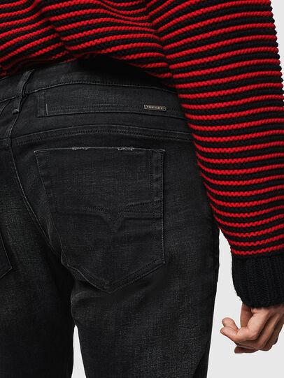 Diesel - D-Bazer 0098B, Noir/Gris foncé - Jeans - Image 4