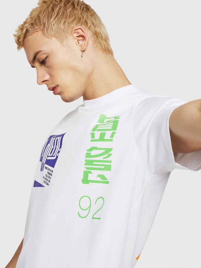 Diesel - T-JUST-Y20, Blanc - T-Shirts - Image 3