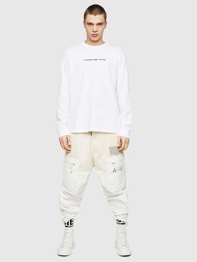 Diesel - T-JUST-LS-COPY, Blanc - T-Shirts - Image 5