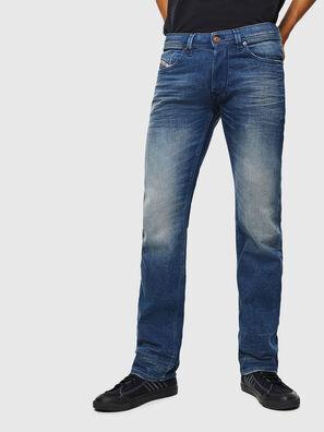 Larkee 0090D, Bleu moyen - Jeans