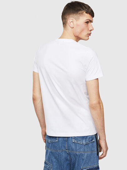 Diesel - T-WORKY-S1, Blanc - T-Shirts - Image 2