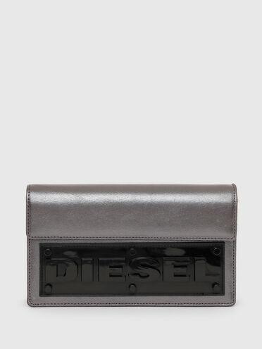 Mini sac portefeuille avec empiècement 3D