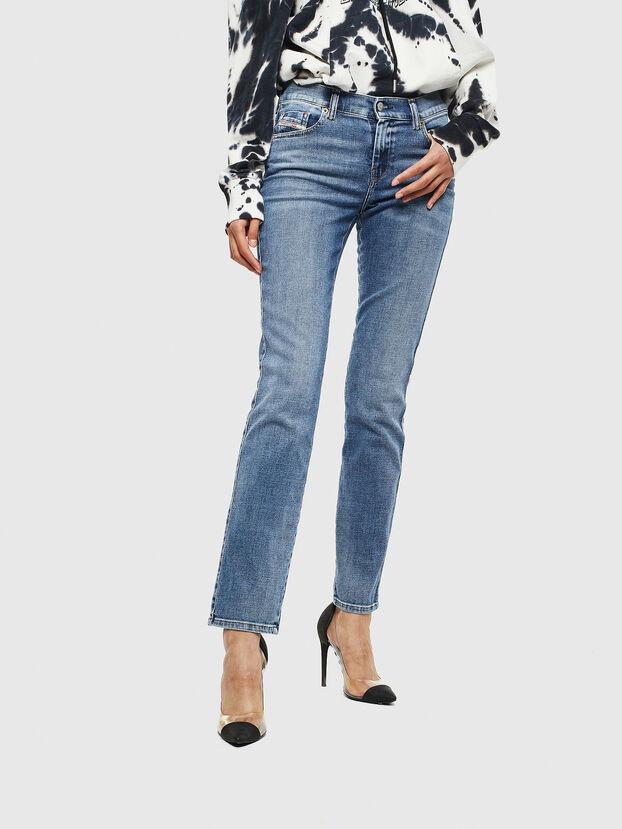 Sandy 009AA, Bleu moyen - Jeans
