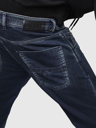 Diesel - Krooley JoggJeans 069HY, Bleu Foncé - Jeans - Image 5