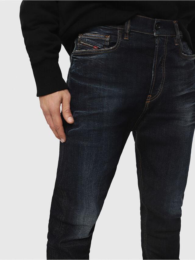 Diesel - D-Vider 081AT, Bleu Foncé - Jeans - Image 3