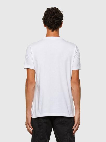 Diesel - T-DIEGOS-N30, Blanc - T-Shirts - Image 2