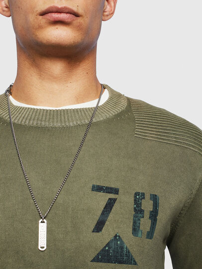 Diesel - K-PACHY, Vert Militaire - Pull Maille - Image 3