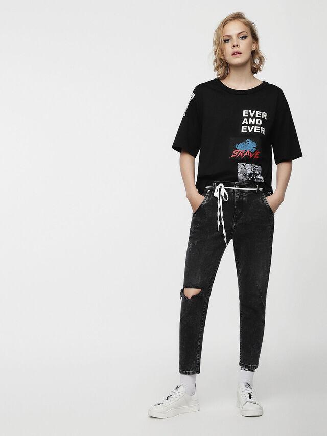 Diesel - Fayza-Evo 069AB, Noir/Gris foncé - Jeans - Image 4