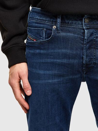 Diesel - Sleenker 009QI, Bleu Foncé - Jeans - Image 3