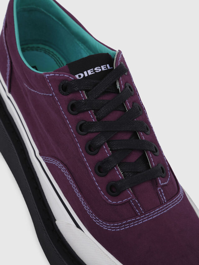 Diesel - H-SCIROCCO LOW, Violet Foncé - Baskets - Image 5