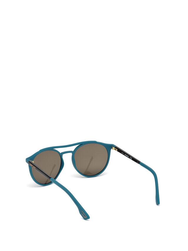 Diesel - DM0195, Bleu - Lunettes de soleil - Image 2