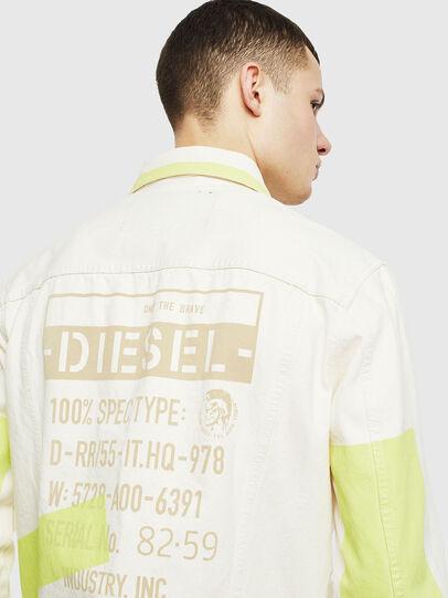 Diesel - NHILL-SP, Blanc - Vestes en denim - Image 5