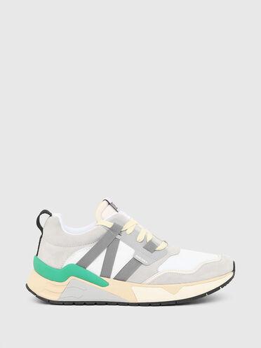 Sneakers en nylon enduit indéchirable