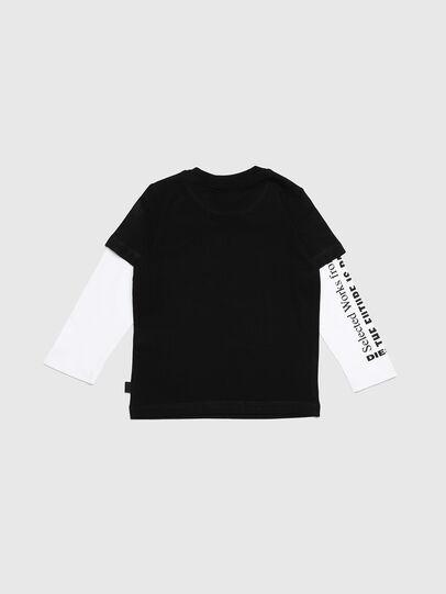 Diesel - TANCEB-R, Noir/Blanc - T-shirts et Hauts - Image 2