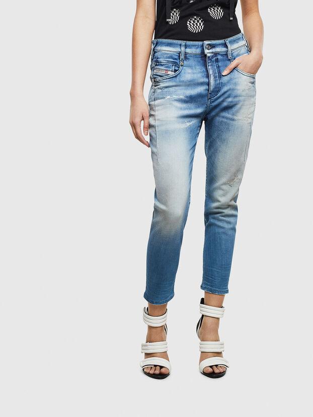 Fayza JoggJeans 0099Q, Bleu moyen - Jeans