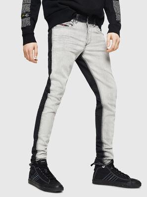 Sleenker 082AX, Noir/Gris foncé - Jeans