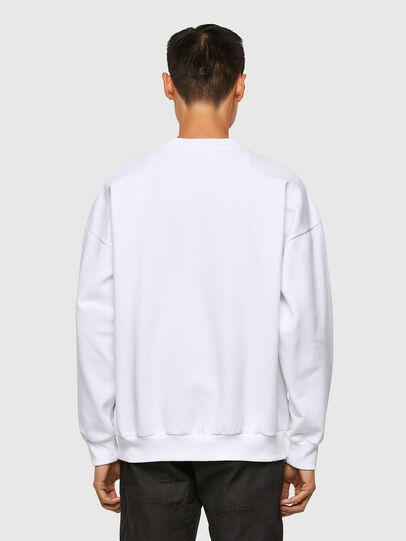 Diesel - S-MART-A90, Blanc - Pull Cotton - Image 2