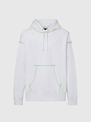 S-ALBYSEAM, Blanc - Pull Cotton