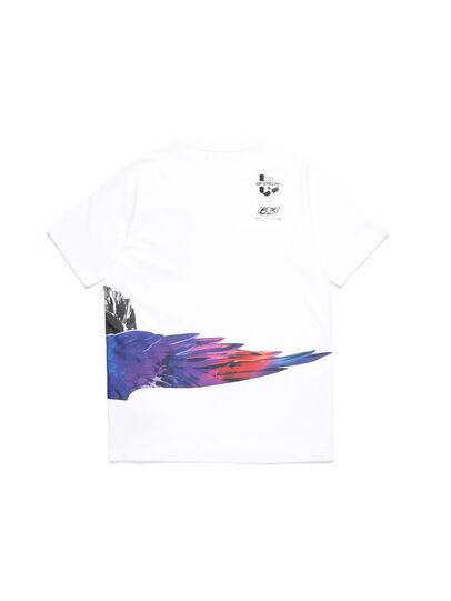 Diesel - D-5055-W, Blanc - T-Shirts - Image 2