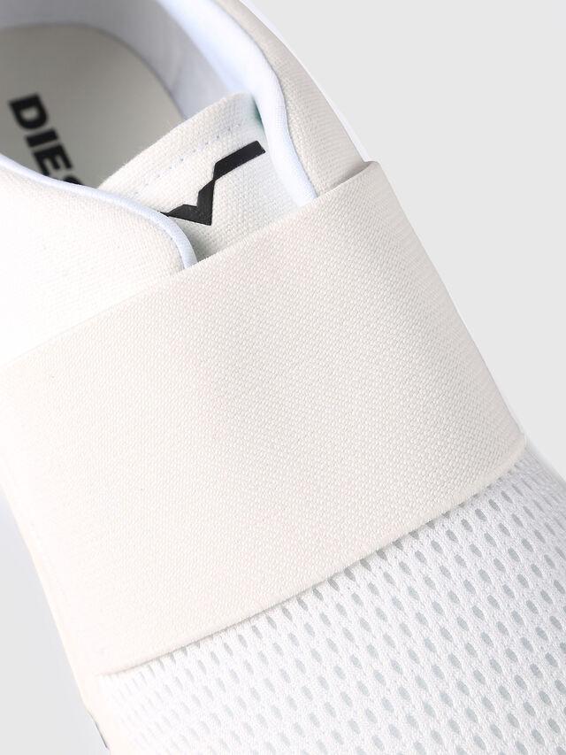 Diesel - S-KB ELASTIC, Blanc - Baskets - Image 4
