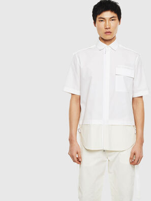 S-GIBBS, Blanc - Chemises