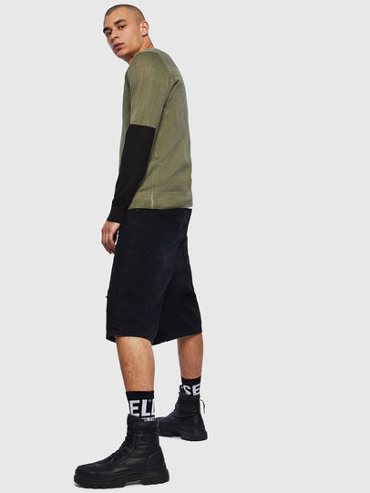 Diesel - K-PACHY, Vert Militaire - Pull Maille - Image 4