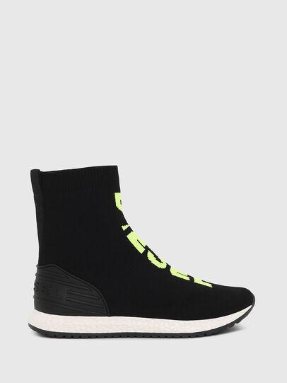 Diesel - SLIP ON 04 MID SOCK, Noir - Footwear - Image 1