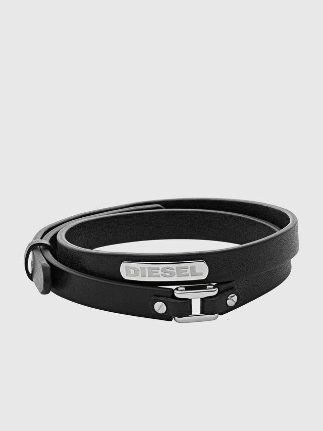 Diesel - BRACELET DX0971, Noir - Bracelets - Image 1