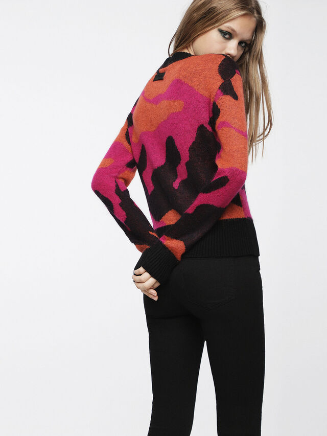 Diesel - M-PIC, Multicolore - Pull Maille - Image 2